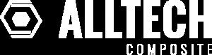 Logo Alltech Composite - 2 Hexagones entremêlés et une typographie à droite